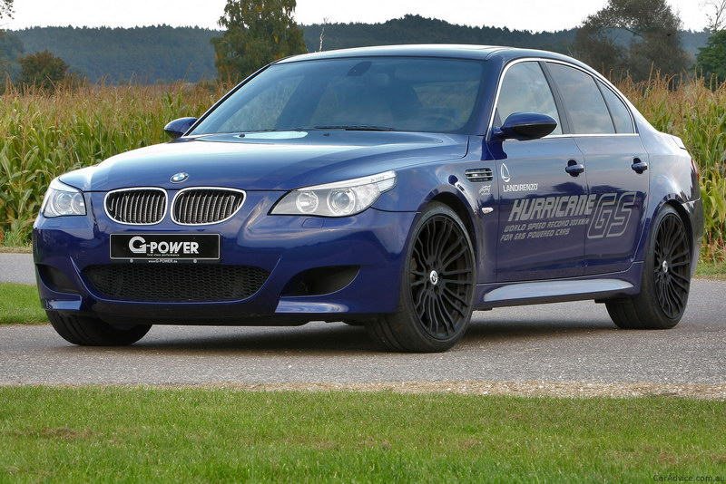 BMW M5 HURRICANE G Power 1