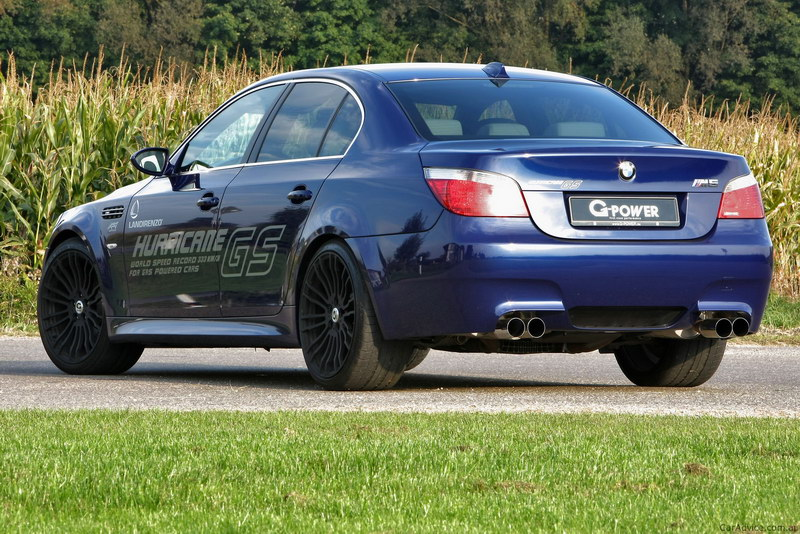 BMW M5 HURRICANE G Power 2